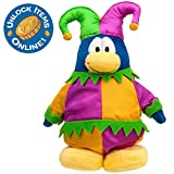 Disney Club Penguin 6'' Limited Edition Penguin Plush -- Court Jester (Semi-Rare Chase)