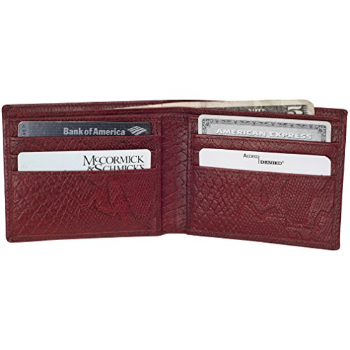 Access Denied Leather Blocking Wallet