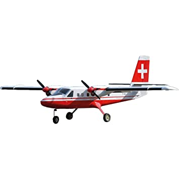 VQ MODELS Twin Otter ARF 2-MOTORIG Swiss also OPTIONAL