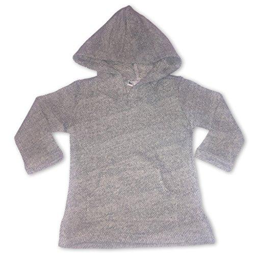 Sol Baby Infant Baja Hoodie Pullover Grey with - Baja Hoodies Boys