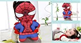 HuBaby Infant Head and Back Protector Backpack Wear (Spiderman), Multi