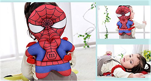 HuBaby Infant Head and Back Protector Backpack Wear (Spiderman), Multi (Guard Baby Head)