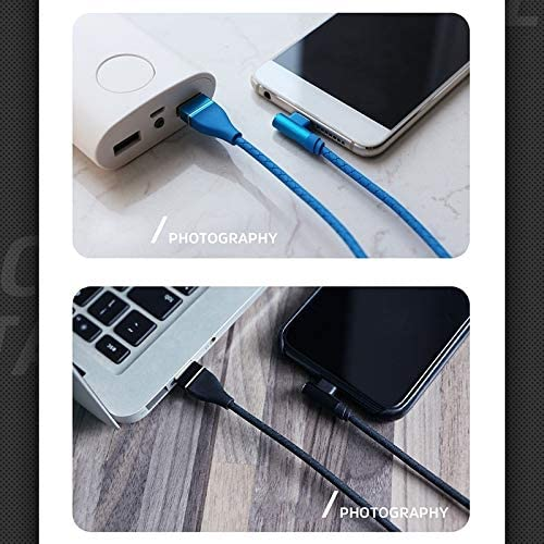 1m KV-CG011 2.1A Type-C//USB-C to USB Single Angle Head Design Charging Cable Length Color : Red