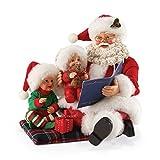 Department 56 Possible Dreams Christmas Read it Again Santa Figurine