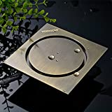 Ground leak/odor proof full copper antique stealth dry wet double use bathroom bathroom kitchen balcony