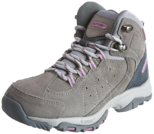 Hi Tec Lynx Trail Mid WP HTO001111 - Botas de ante para mujer Gris
