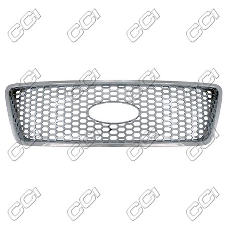 Coast To Coast IWCGI88 High Impact Triple Chrome Plated ABS Grille Overlay ()