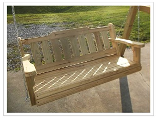 4' Porch Swing Treated Pine Wood (Pine Swing Sets)