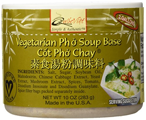 "Quoc Viet Foods Vegetarian ""Pho"" Soup Base, 10 oz jar (1 unit)"