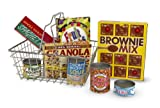 grocery baskets - Melissa & Doug Grocery Basket - Pretend Play Toy With Heavy Gauge Steel Construction