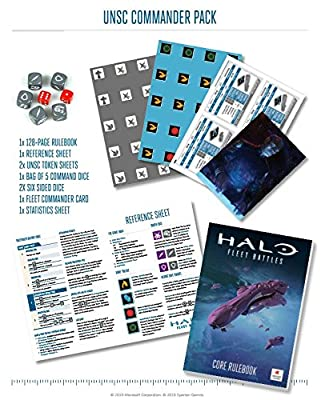 Halo: Fleet Battles: UNSC Commander Pack HFUN01 by Spartan Games by Spartan Games