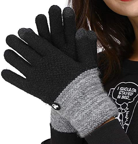 LETHMIK Duotone TouchScreen Winter Gloves product image