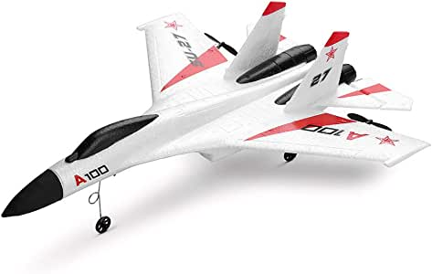 Lemoning Glider A100 SU-27 3CH 2.4G RC Airplane RTF Glider EPP Composite Material 14+