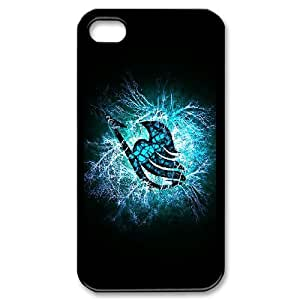 DIY Printed Personlised Fairy Tail Crown cover case For iPhone 4,4S W5830247