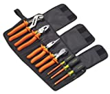 Greenlee 0159-01-INS Plier and Screwdriver Kit, 7-Piece