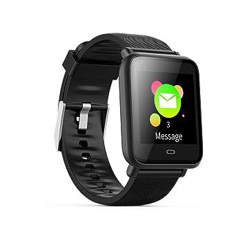 APJJ Smart Watch GPS, Reloj para Correr con Monitor De Ritmo CardíAco Y Notificaciones Inteligentes para Hombres Y Mujeres,Black: Amazon.es: Deportes y aire ...