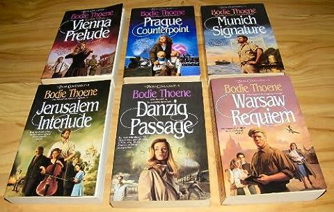 THE ZION COVENANT Series of SIX books. VIENNA PRELUDE PRAGUE COUNTERPOINT MUNICH SIGNATURE JERUSALEM INTERLUDE DANZIG PASSAGE WARSAW REQUIEM (Bodie (Counterpoint Series)