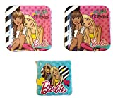 Barbie Party Bundle 9'' Plates (16) Napkins (16)