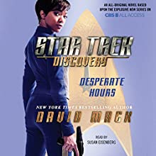 Star Trek: Discovery: Desperate Hours Audiobook by David Mack Narrated by Susan Eisenberg
