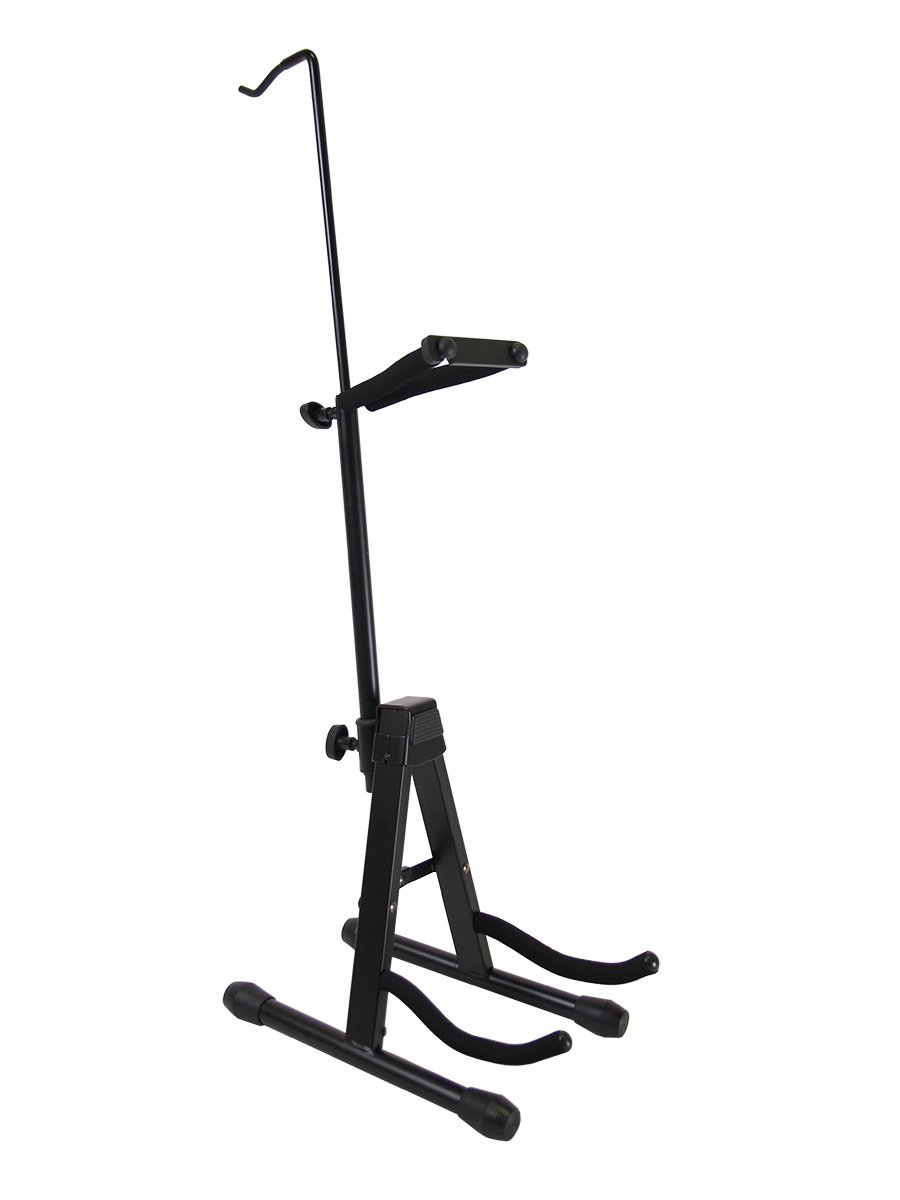 Gearlux Adjustable Foldable Violin Stand with Hook for Bow