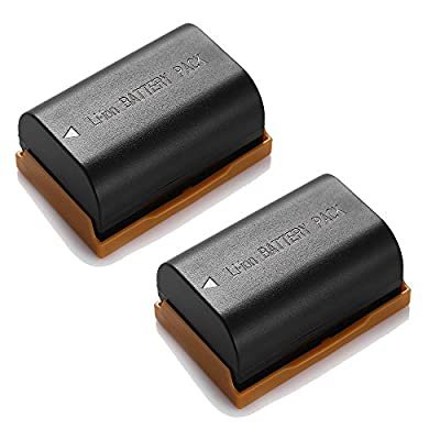 Powerextra 2 Pack Replacement Canon LP-E6 Battery and Charger