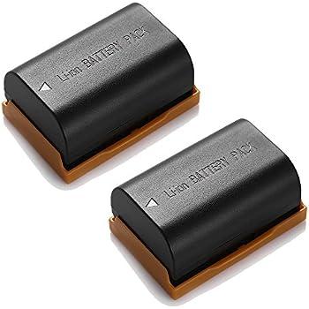 Batería para Canon EOS 70d 80d 60d 60da 7d Mark II 6d lp-e6 lpe6 accu con info chip