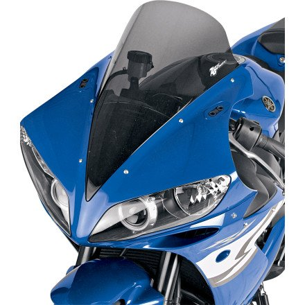 04-06 YAMAHA YZF-R1: Zero Gravity Sport Touring Windscreen (LIGHT SMOKE)
