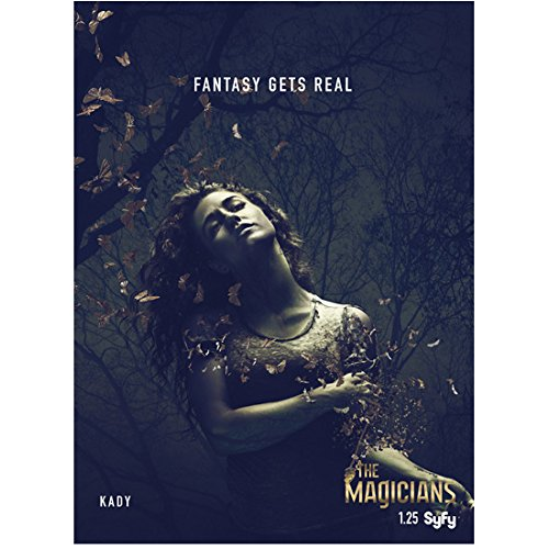The Magicians movie promo with Jade Tailor as Kady Orloff-Diaz 8 x 10 Inch Photo (Wicker Julia The Magicians)