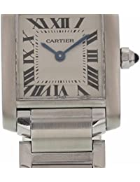 Tank Francaise quartz womens Watch 2384 (Certified Pre-owned)