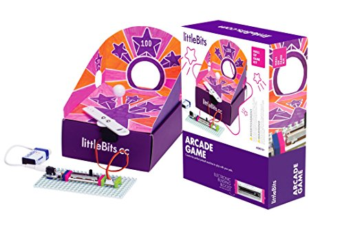 littleBits Starter Kit Hall of Fame Arcade Game, Purple
