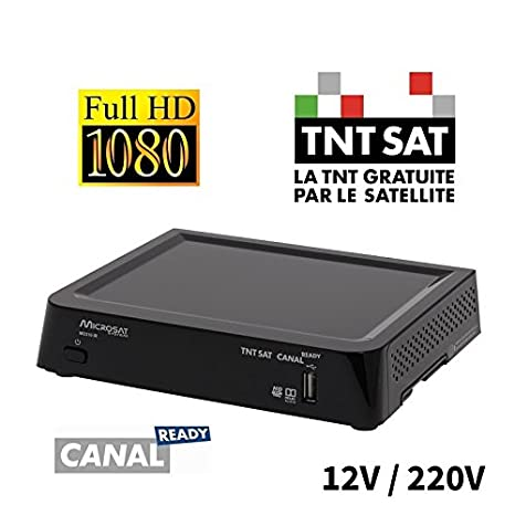 TECHWOOD Récepteur satellite FRANSAT HD TK30FHD02B: Amazon ...