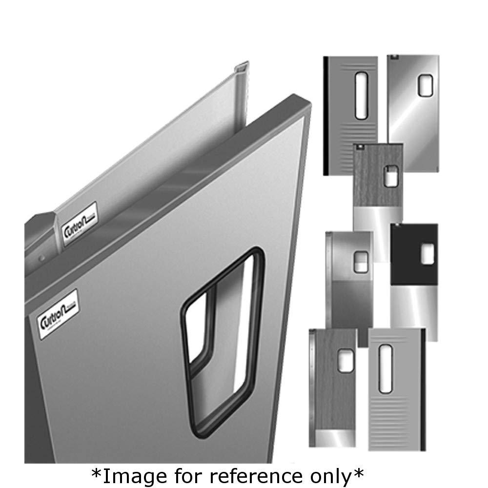 9 x 14 Window 60 x 96 Curtron SPD-30-SS-GK-DBL-6096 Service-Pro Series 30 Double Swinging Doors 18 Gauge Stainless Steel Exterior /& Full Perimeter Gasket