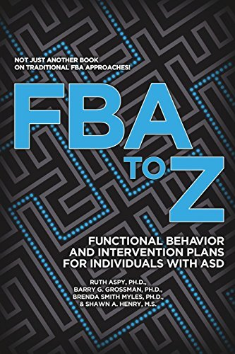 Fba to Z: Functional Behavior and Intervention Plans for Individuals with Asd by Phd Ruth Aspy (2016-08-01)
