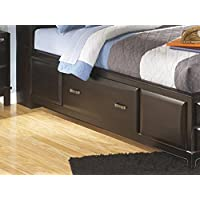 Ashley Kira Full Under Bed Storage w/rails