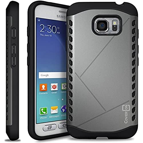 Galaxy S7 Active Case, CoverON [Paladin Series] Slim Fit Hard Protective Modern Style Phone Case for Samsung Galaxy S7 Active - Gunmetal Grey Sales