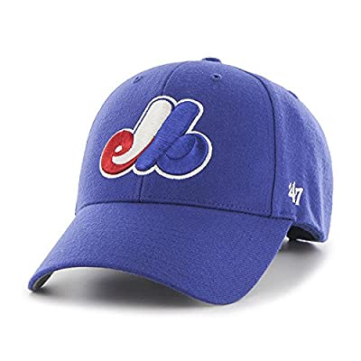 Forty-Seven Montreal Expos MLB 47 MVP Blue Structured Hat Cap Adult Men's Adjustable from Forty-Seven