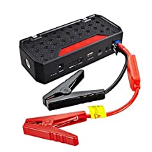 Bolt Power G06 Portable 600 Amp Peak Car Battery Jump Starter Power Bank Charger with 16500mAh-Emergency Auto Heavy Duty Jump Starter for Truck, Van, SUV and More