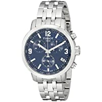 Tissot Men's T0554171104700 PRC200 Stainless Steel Watch