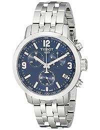Tissot Men's T0554171104700 PRC200 Analog Display Quartz Silver Watch