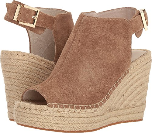 Cole Suede Sandals Kenneth (Kenneth Cole New York Women's Olivia Espadrille Wedge Sandal, Desert, 8 M US)
