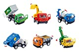 Best Liberty Imports 1year Old Toys - Set of 6 Pullback City Builder Construction Vehicles Review