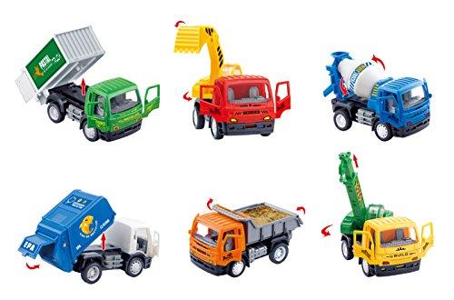 Pullback City Builder Construction Vehicles