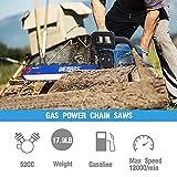WEMARS Gas Chainsaw 52cc 18 Inch Power Chain Saw