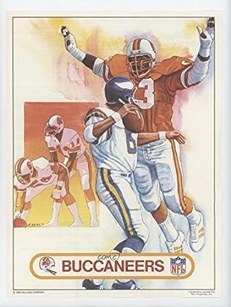 029fed8f5 Amazon.com  Tampa Bay Buccaneers (Football Card) 1982 Kellogg s Raisin Bran  Team Posters -  Base   TBB  Collectibles   Fine Art