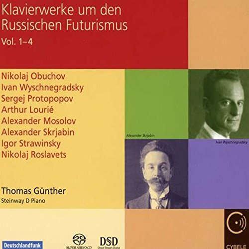 Nikolaï Roslavets et les futuristes russes - Page 4 51h9YorOs2L
