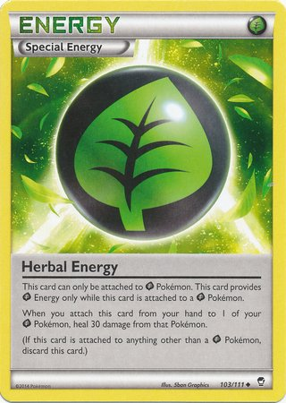 Pokemon - Herb Energy (103/111) - XY Furious Fists