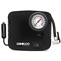 GOOLOO 300PSI Tire Inflator Premium Electric 12v DC Portable Auto Air Compressor Pump for Car, Truck, Bicycle or RV, Basketballs, Air Bed Mattress and OtherInflatables