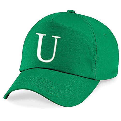 A Niños Alphabet U Z Kelly Gorra Niños Escuela Verde 4sold Hat Bordado naC1qC0w