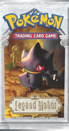 1 (One) Pokemon Trading Card Game EX Legend Maker Booster Pack ...