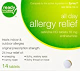 ReadyInCase(R) - Compare to Zyrtex - All Day Allergy Relief - 14 Ct Box - 3 BOX PACK (42 Total Count)